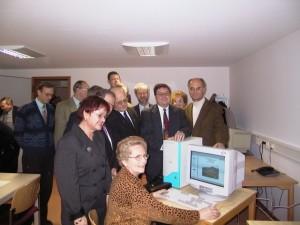 Eröffnung am 15.3.2001 in St. Thekla